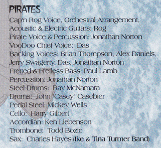 Pirate Credits