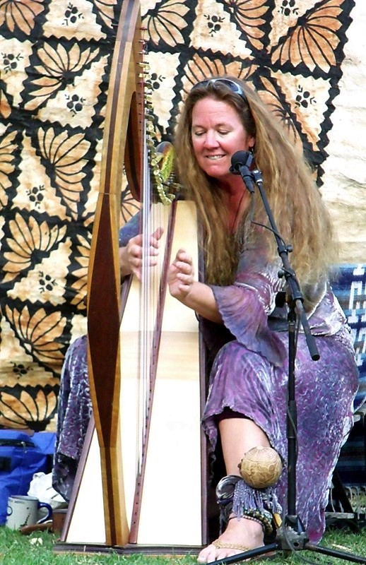 Soulful Harp and Voice, Celtic Folk traditional influence with Modern contemporary style