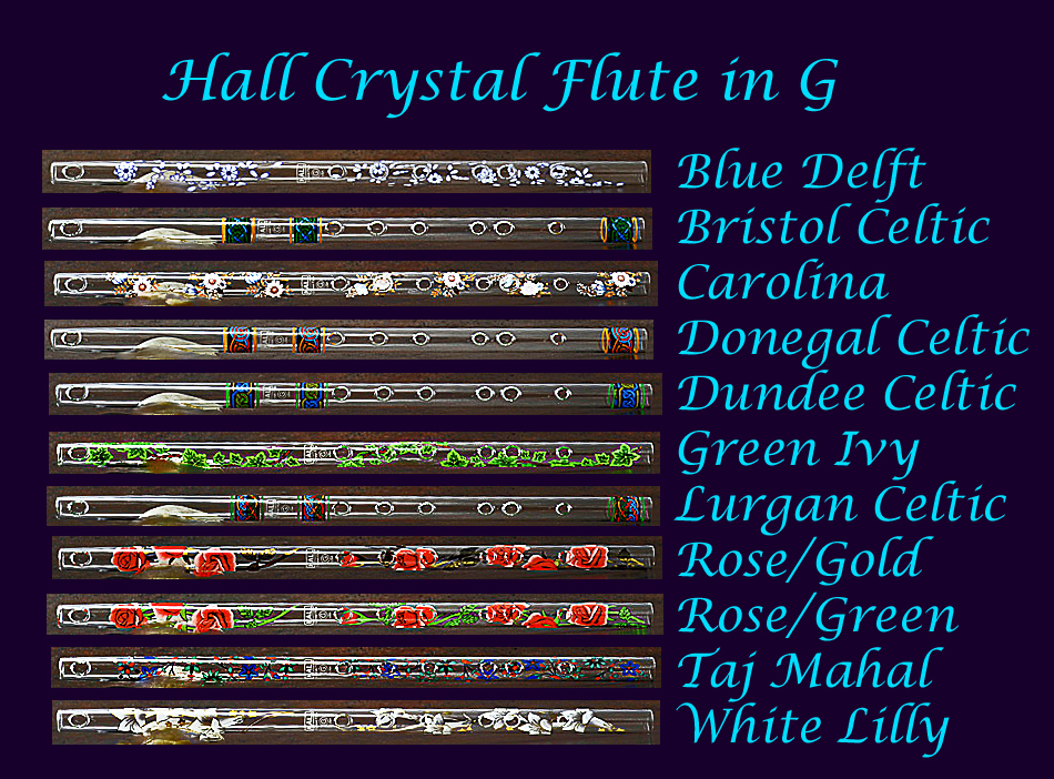how to play crystal flute